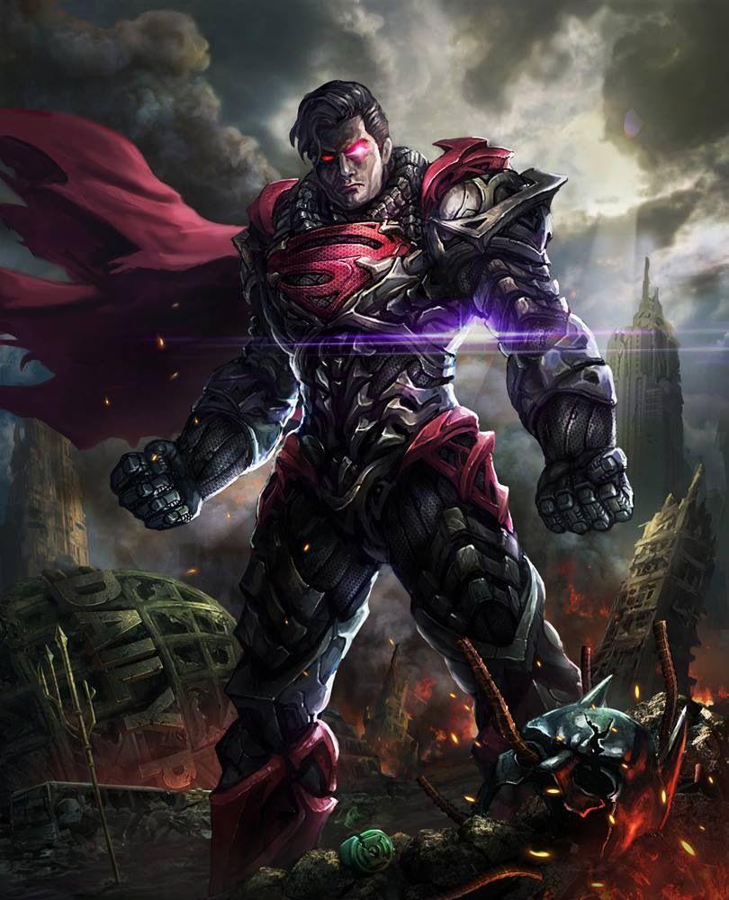 Kryptonian Battle Armor Superman Evil Superman Superman