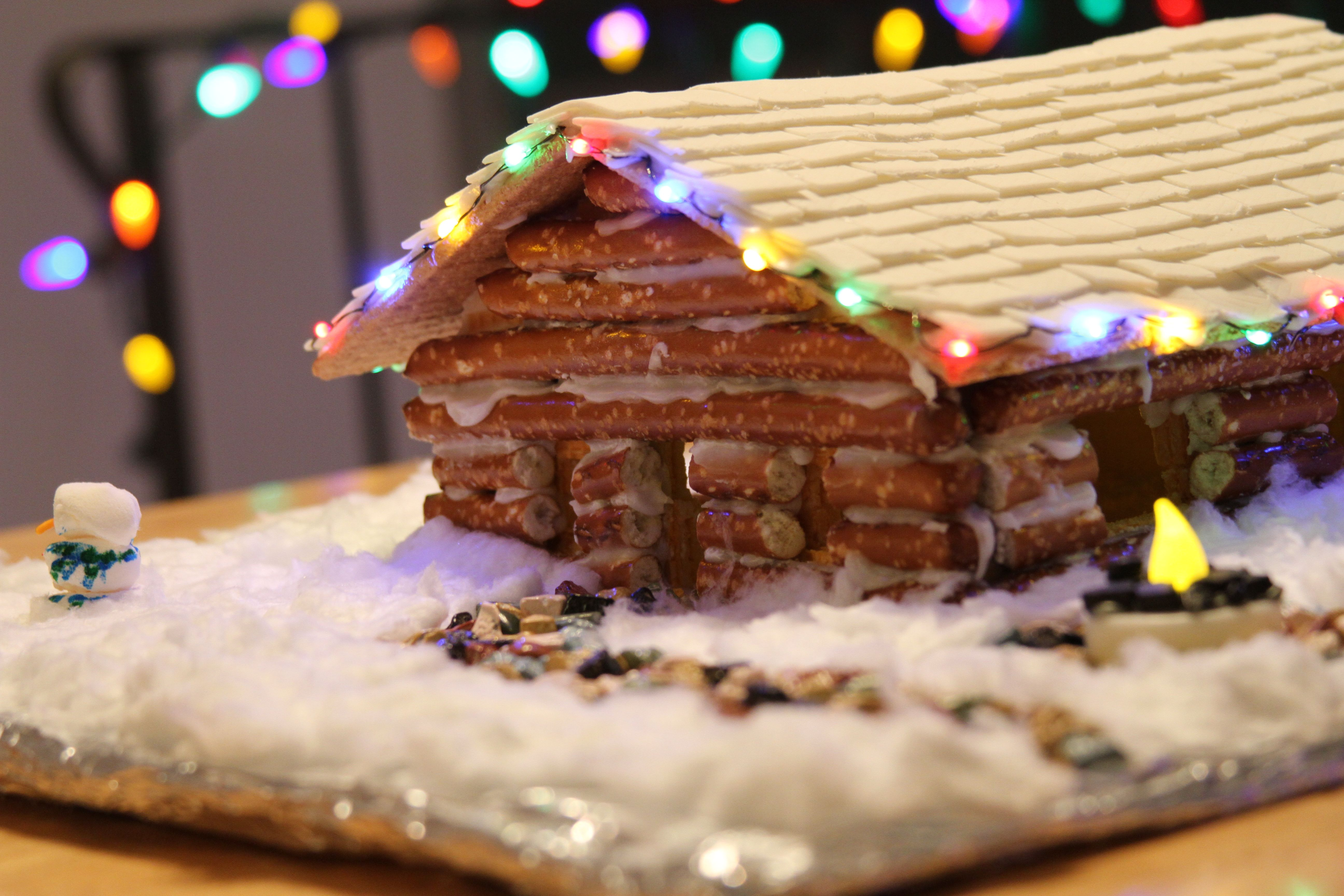 Add Micro Led Lights To Your Gingerbread House Gingerbread House Gingerbread Kids Christmas