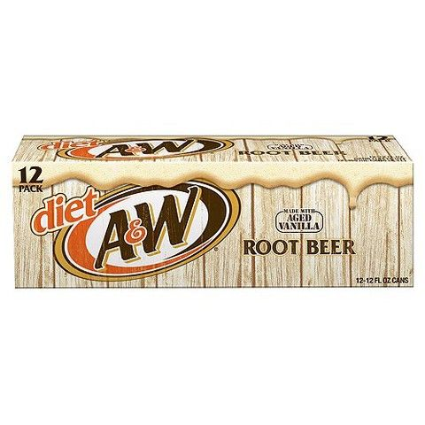 A W Diet Vanilla Root Beer 12 Oz 12 Pk Diet Root Beer Root Beer Beer