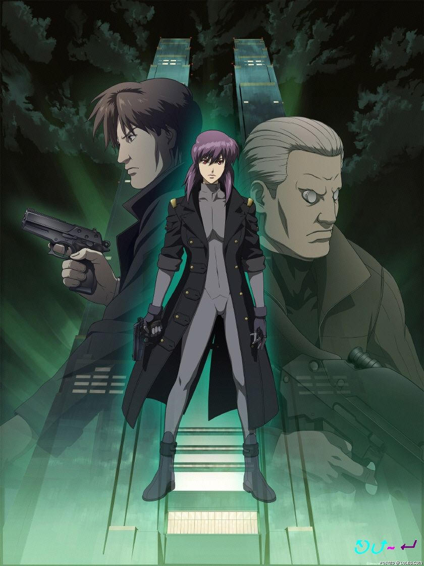 Koukaku Kidoutai Ghost In The Shell 1548075 Zerochan Ghost In The Shell Anime Ghost Anime