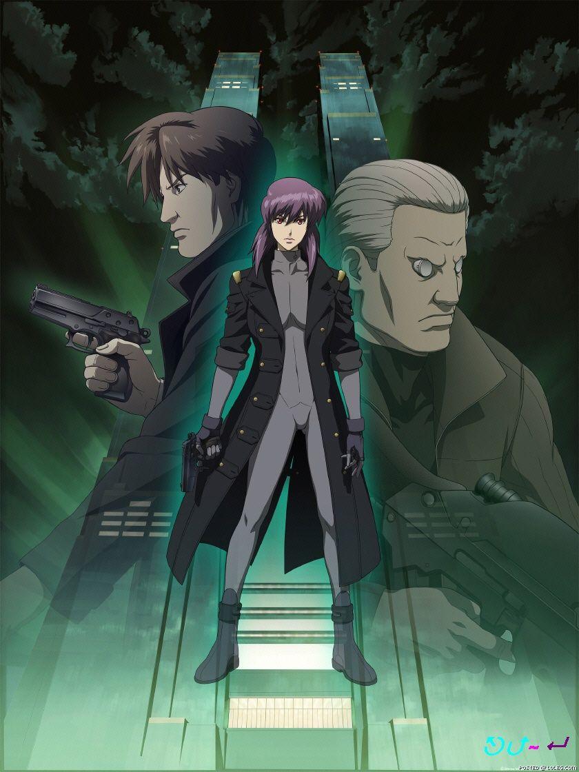 Koukaku Kidoutai Ghost In The Shell 1548075 Zerochan Ghost In The Shell Anime Ghost Anime