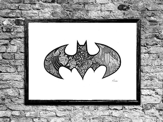 Bat Logo Doodle Products Pinterest