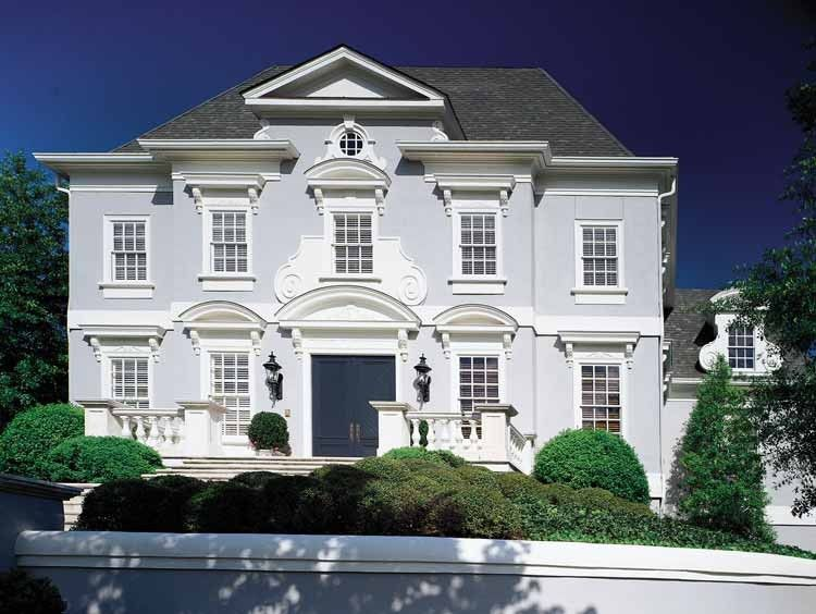 Classical Style House Plan 4 Beds 3 5 Baths 4612 Sq Ft Plan 429 141 House Plans Luxury House Plans Neoclassical Design