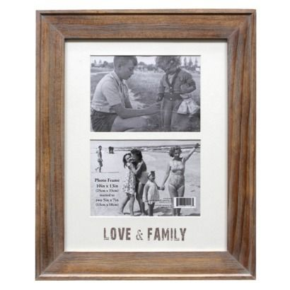 Threshold™ 2-Opening Frame - Light Brown 5X7 | Home | Relax ...