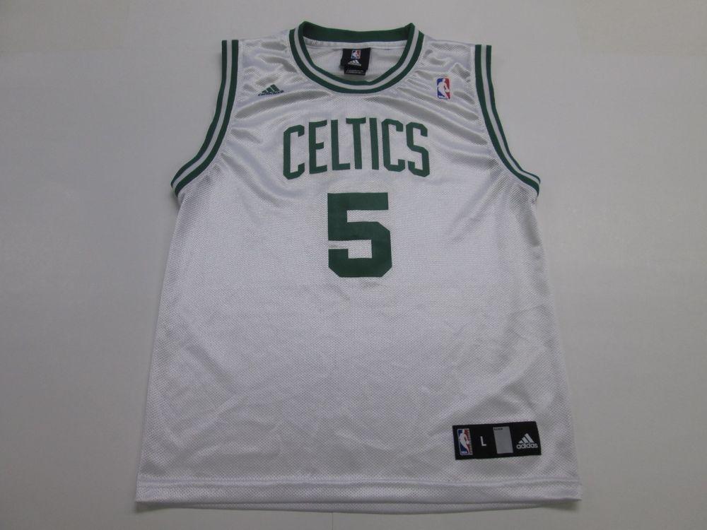 NBA Boston Celtics Kevin Garnett #5 Jersey by Adidas, Youth L 14/16 #adidas #BostonCeltics