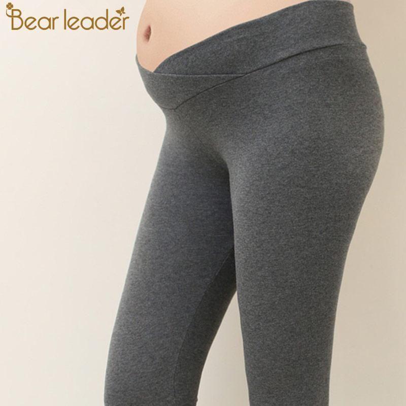 b5e36e8e05a54 Bear Leader Maternity Leggings Pregnant Women's Legging Cotton War Maternity  Win #fashion #clothing #
