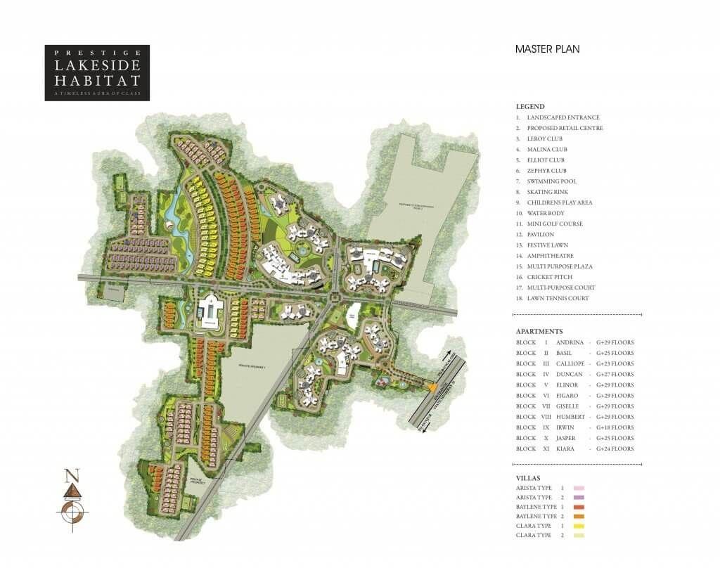 Masterplan Habitats Lakeside Villa