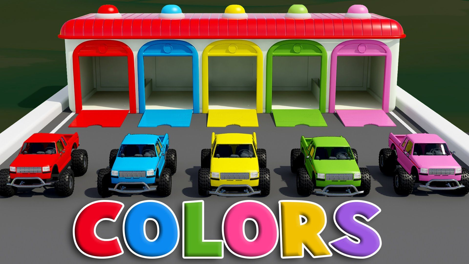 - Colors For Children To Learn With Color Car Toy - Colours For Kids