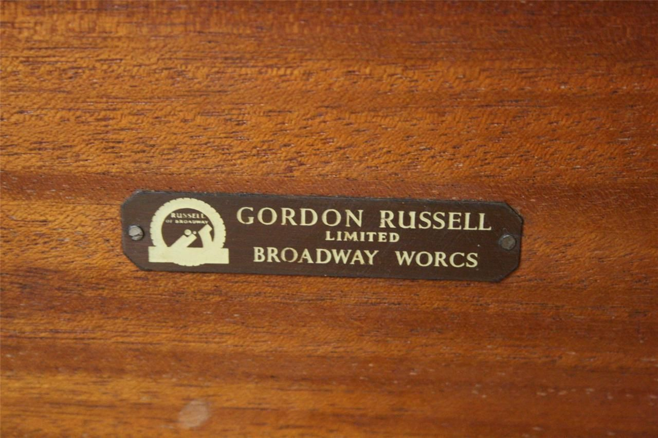 Gordon Russell Furniture Label 1960 S Makers Mark Mid Century Furniture Furniture Collection