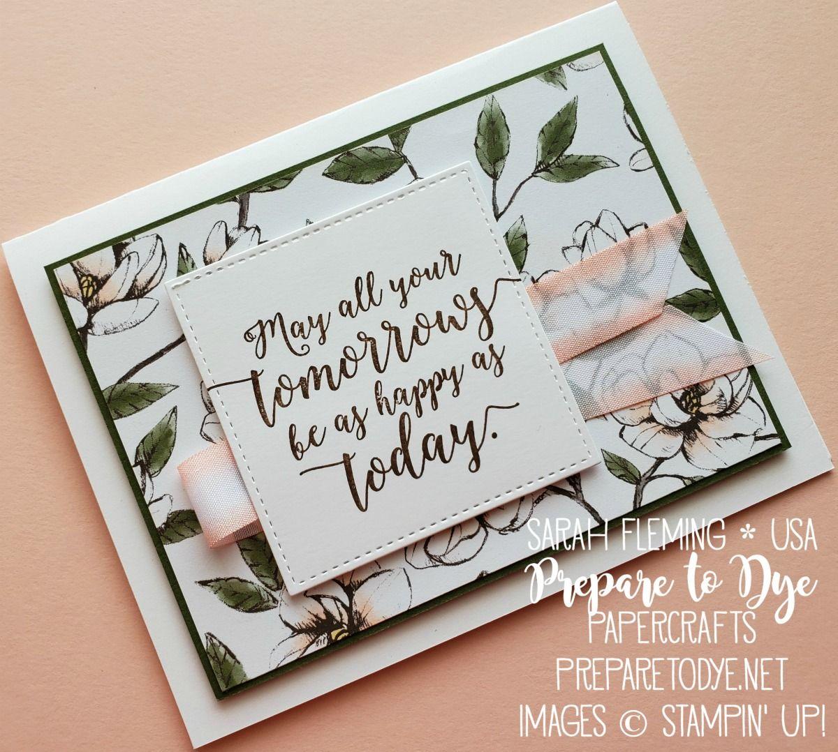 Colorful Magnolia Retirement Cards Handmade Wedding Cards Handmade Farewell Cards