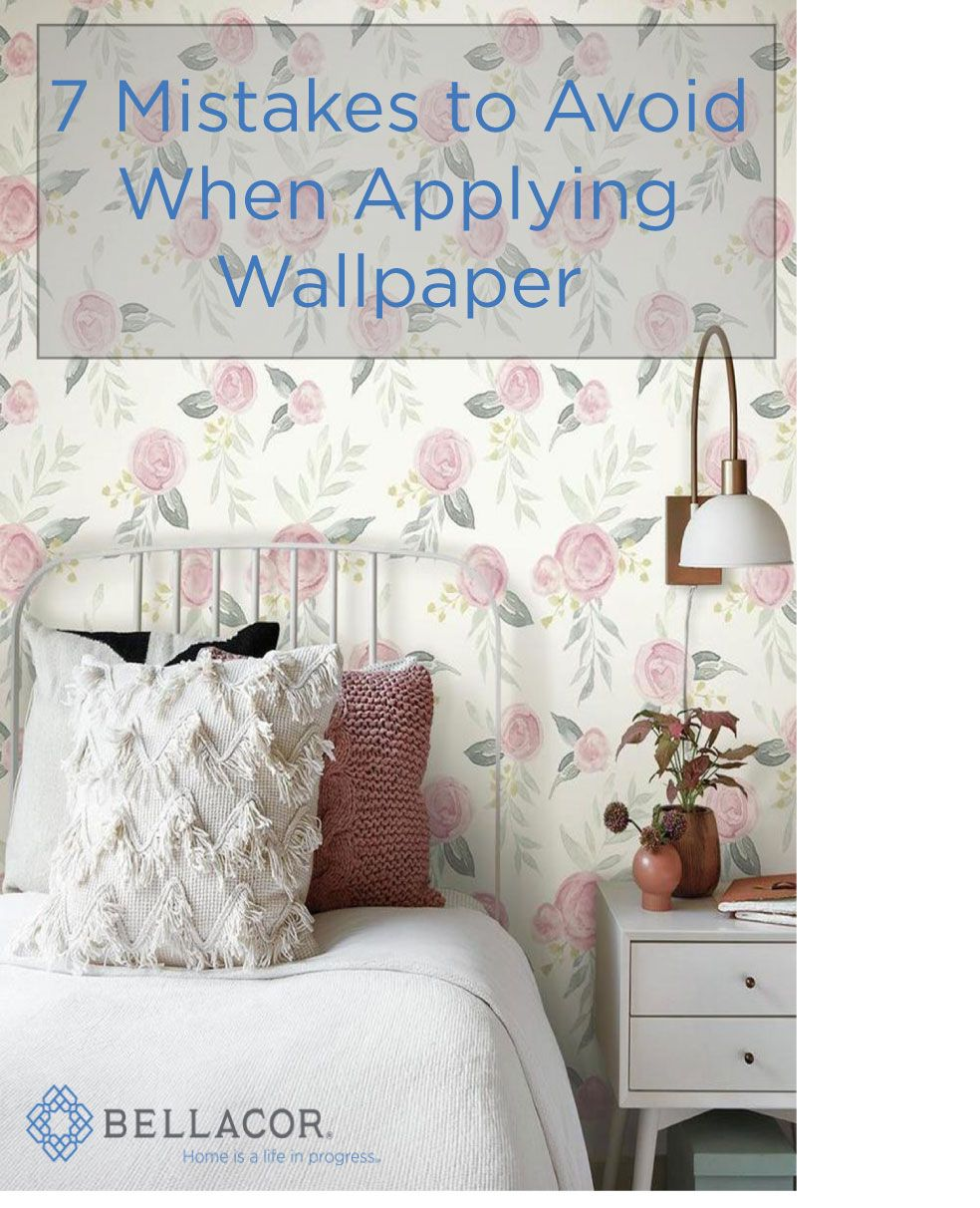 How To Fix Wallpaper Mistakes Wallpaper How To Install Wallpaper Bellacor
