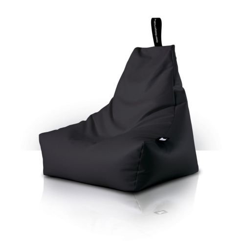 Beanbagcrazy Mighty B Bag Black Faux Leather