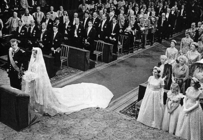Wedding of Paola Ruffo di Calabria and Albert, Prince of Liège.