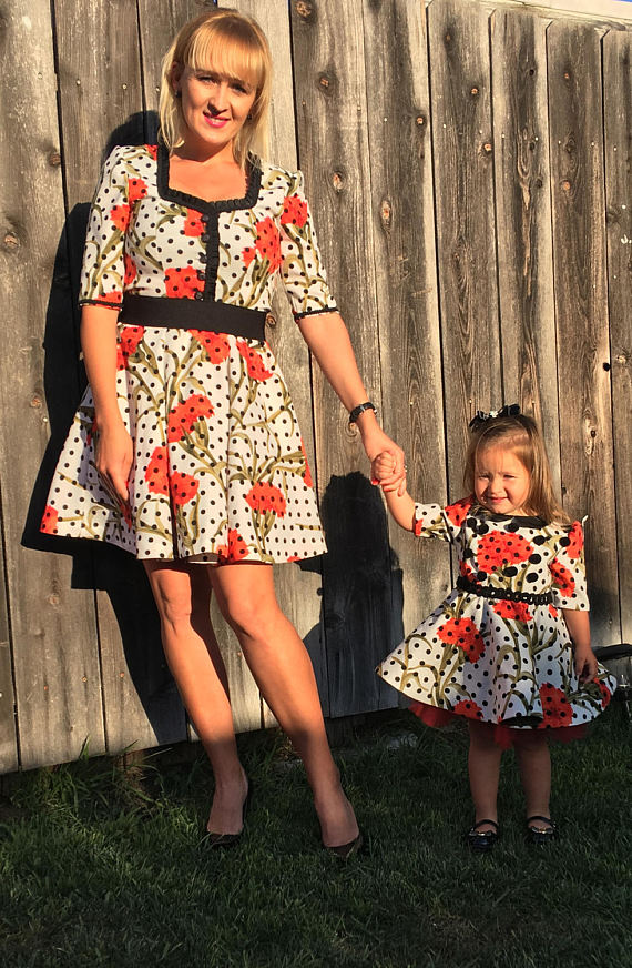 c524ab907c626 Mother Daughter Dress