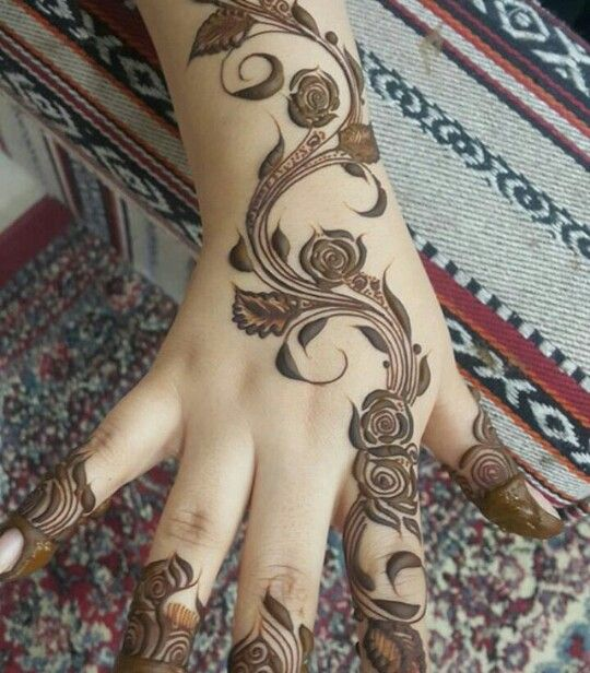 Khaleeji Khafif Mehndi Design Henna Designs Hand Arabic Henna Designs