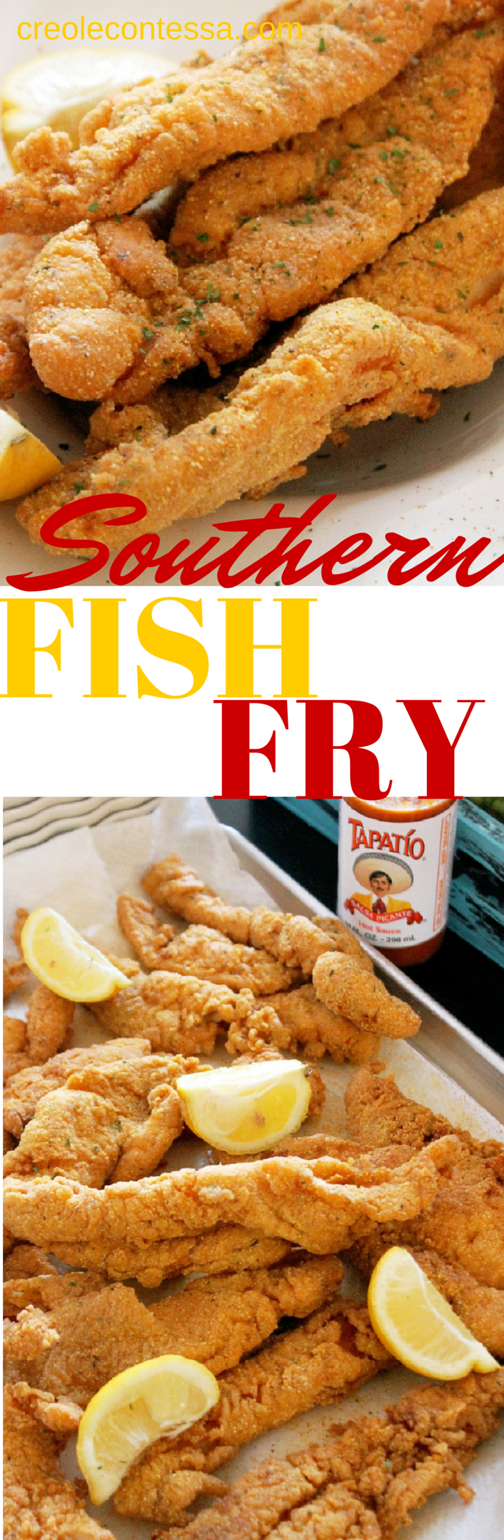 Fish Fry-Creole Contessa  (she has such insanely good recipes!!)