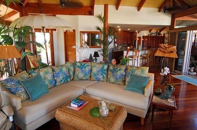 Hawaiian Style Bedroom: Big Island Hawaiian Home Tour