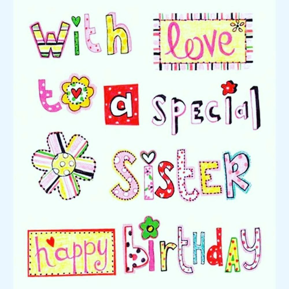 Happy Birthday Sister Quotes Bday Wishes For Sis Cards