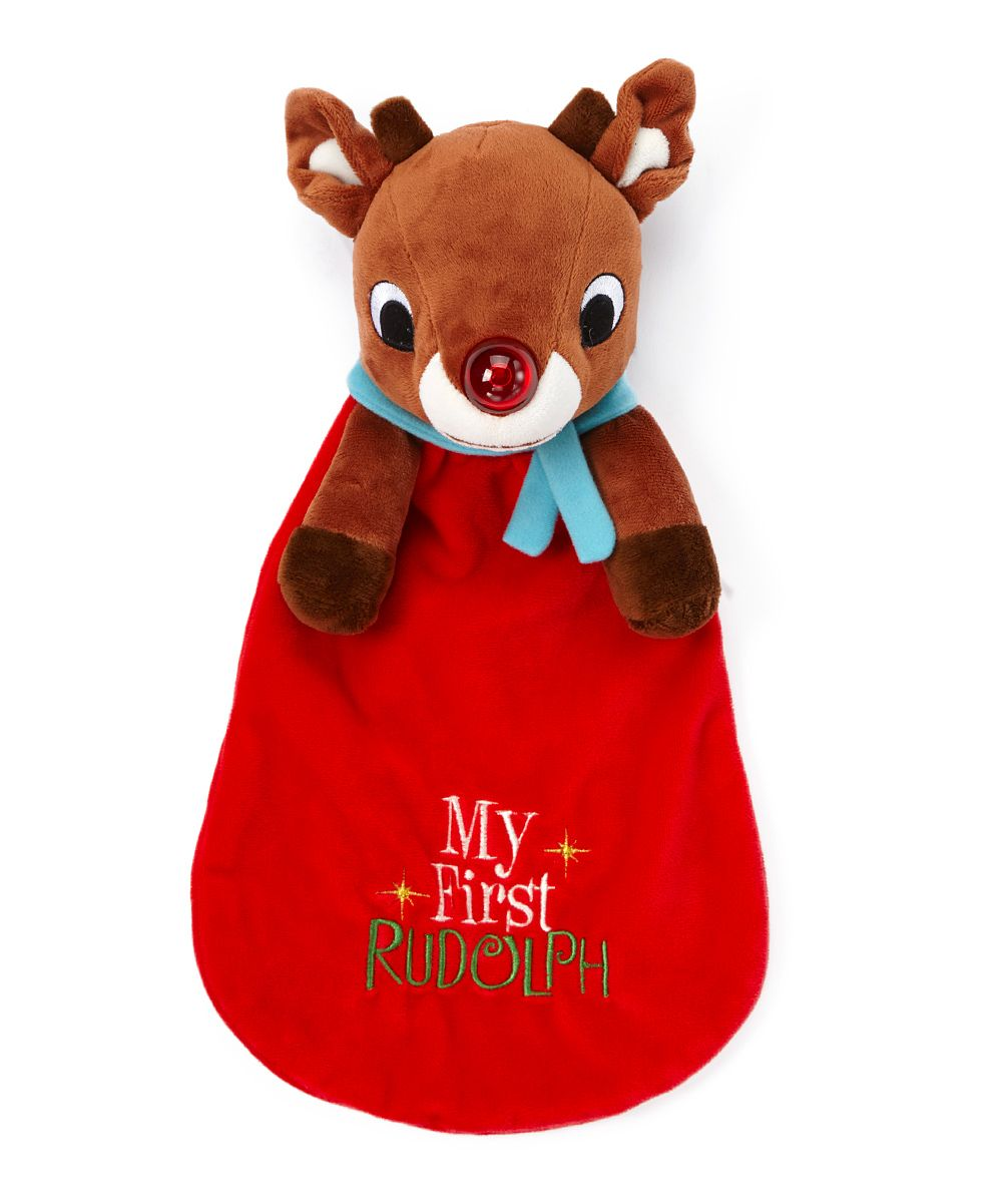 Rudolph Snuggle Toy Baby boy toys, Toys, New baby products