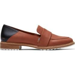 Photo of Toms Brown Leather Mallory Loafer Shoes For Women – Size 36.5 TomsToms