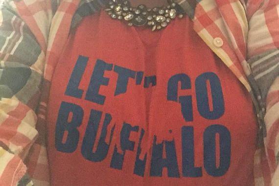 860247c4 Buffalo Bills Shirt for her | WNY Football Buffalo NY Women T shirt ...