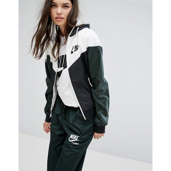 Nike Og Windrunner Hooded Jacket (€93) ❤ liked on Polyvore featuring  activewear b91ecd6ec