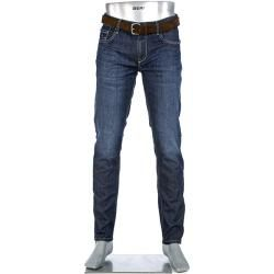 Photo of Alberto Men's Jeans Slipe, Regular Slim Fit, Cotton Stret …