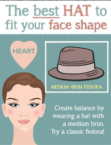 Yes You Can Rock A Hat How To Make 5 Tricky Trends Work For You Heart Face Shape Face Shapes Shape Face