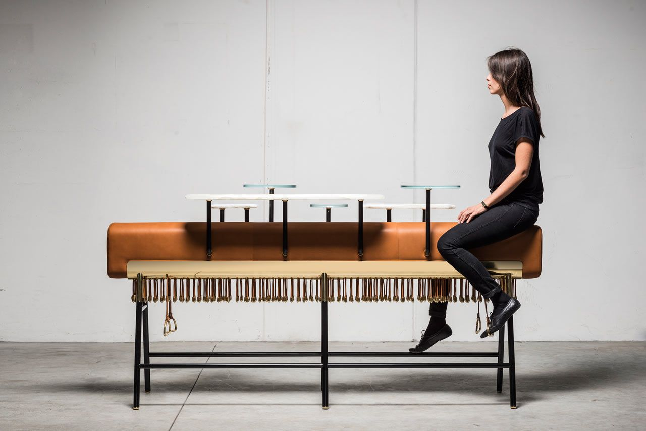 Stand eside, sit on or straddle 'Bar Michele' by David/Nicolas - see more on blog
