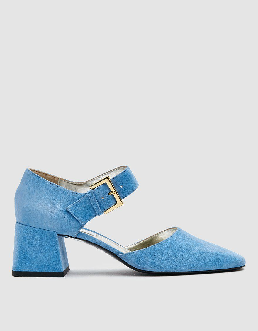 Suzanne Rae Maryjane in Blue Suede