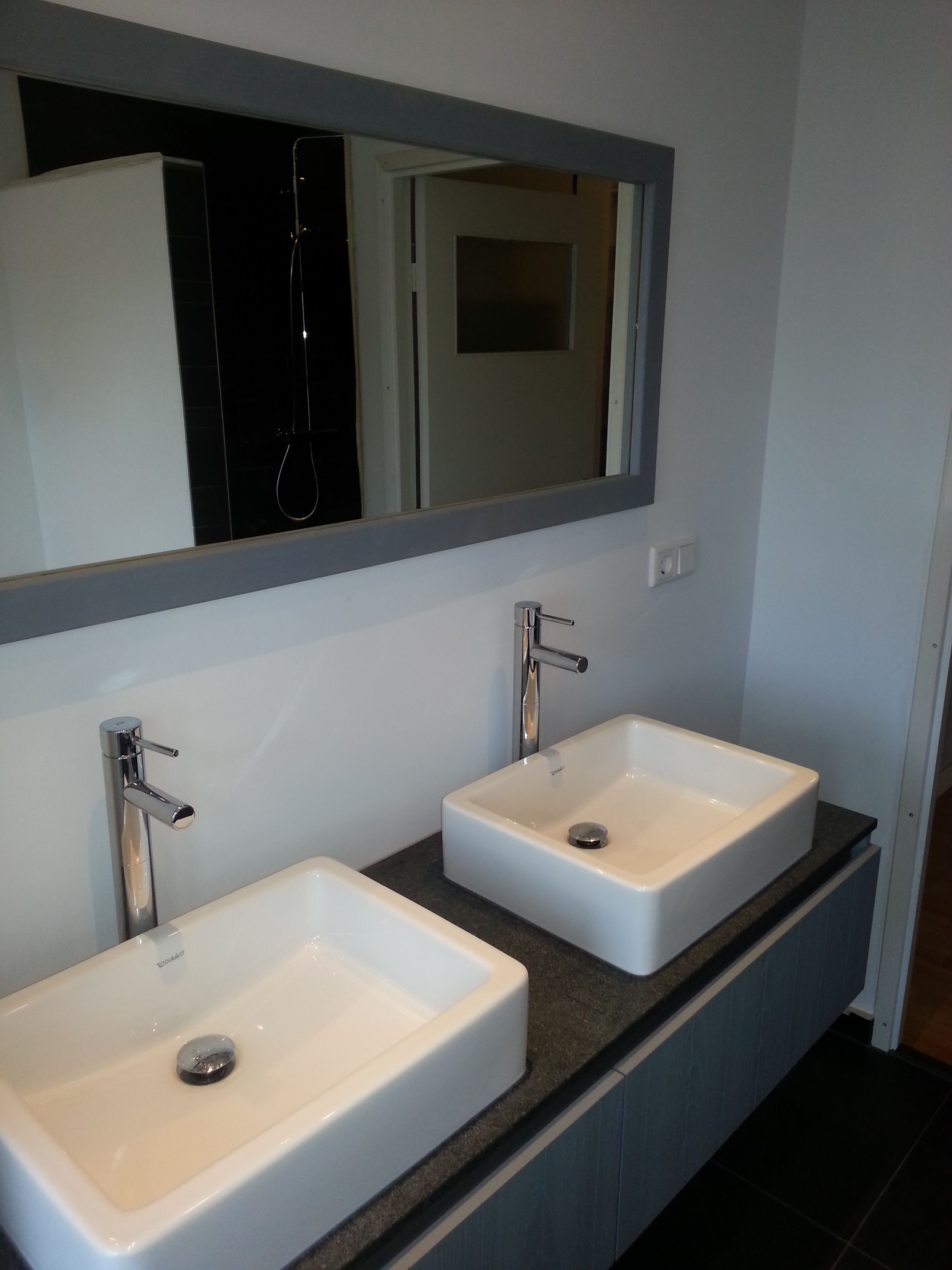 Badkamer meubel plus spiegel | Jan-Interieur | Pinterest