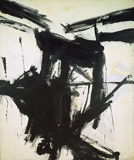 Franz Kline, August Day, 1957 Oil on canvas 92 x 78 in. 233.7 x 198.1 cm