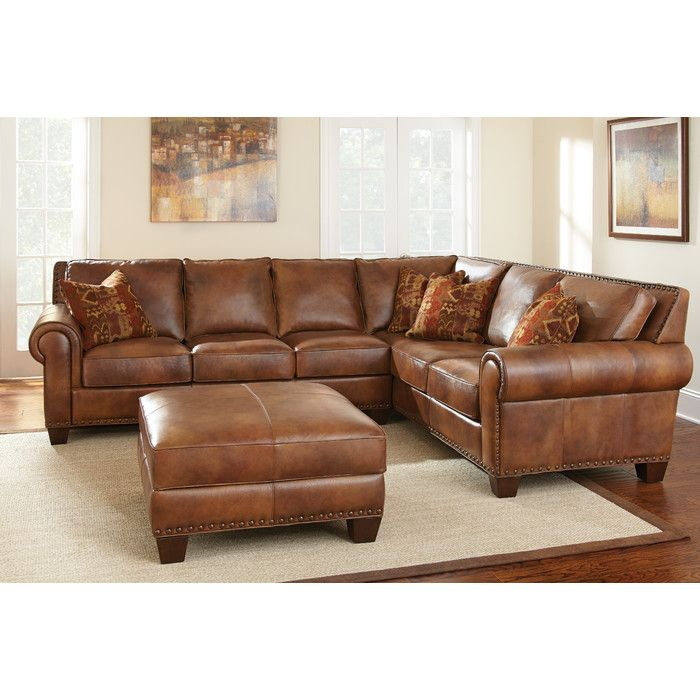 Steve Silver Furniture Silverado Modular Sectional Leather Couch Sectional Leather Sectional Sofas Top Grain Leather Sectional