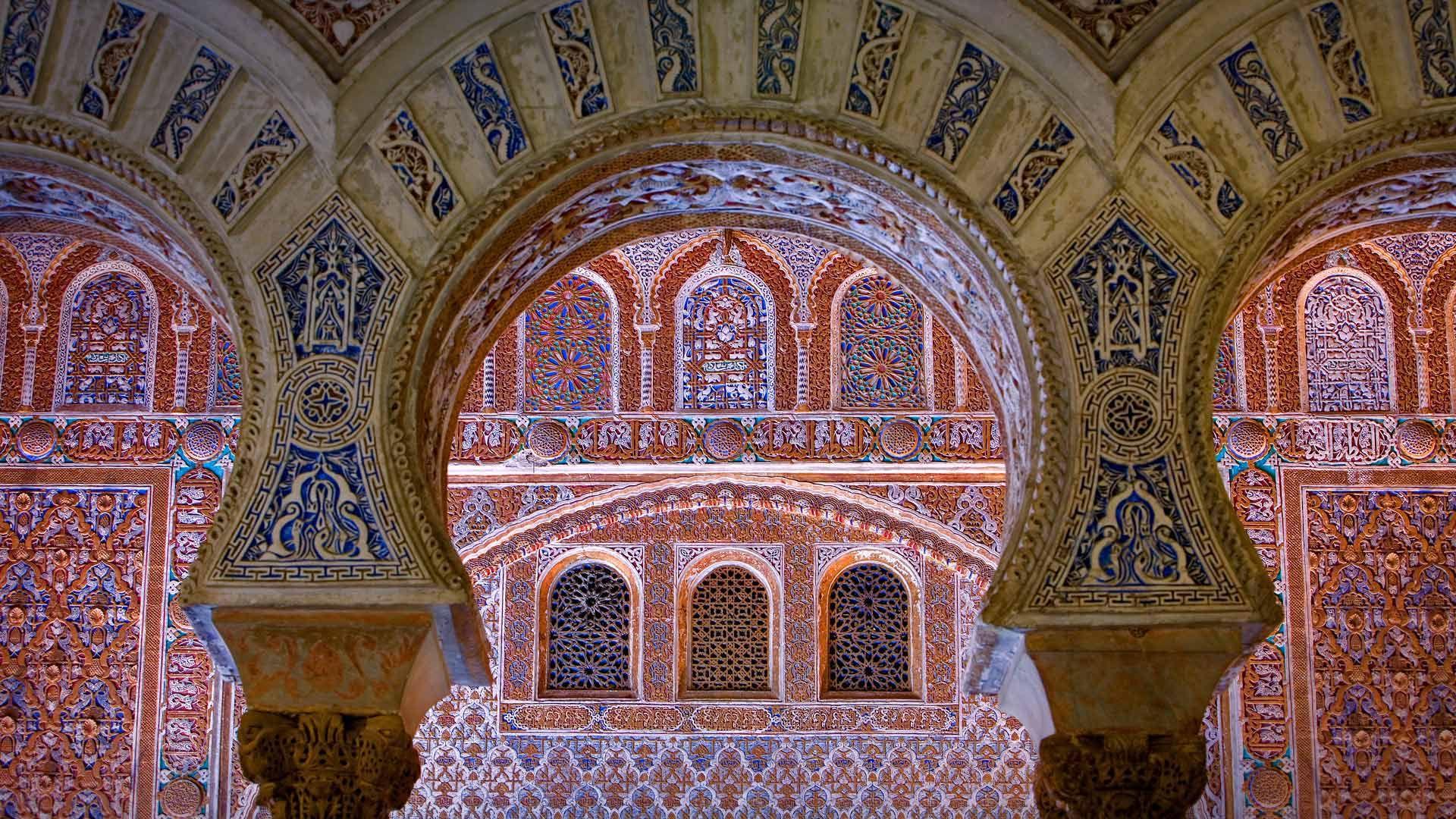 Ambassador s Hall in the Alcázar of Seville Spain © Lucas Vallecillos age fotostock