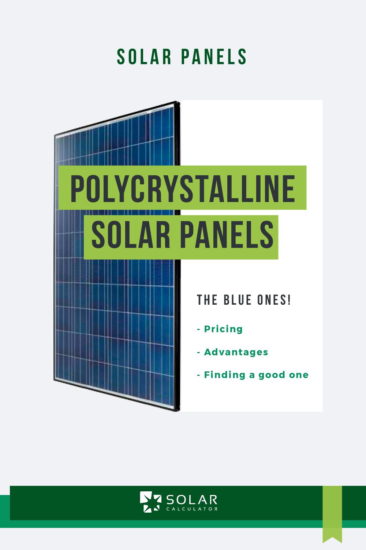 Polycrystalline In 2020 Solar Panels Cheap Solar Panels Solar Panel Cost