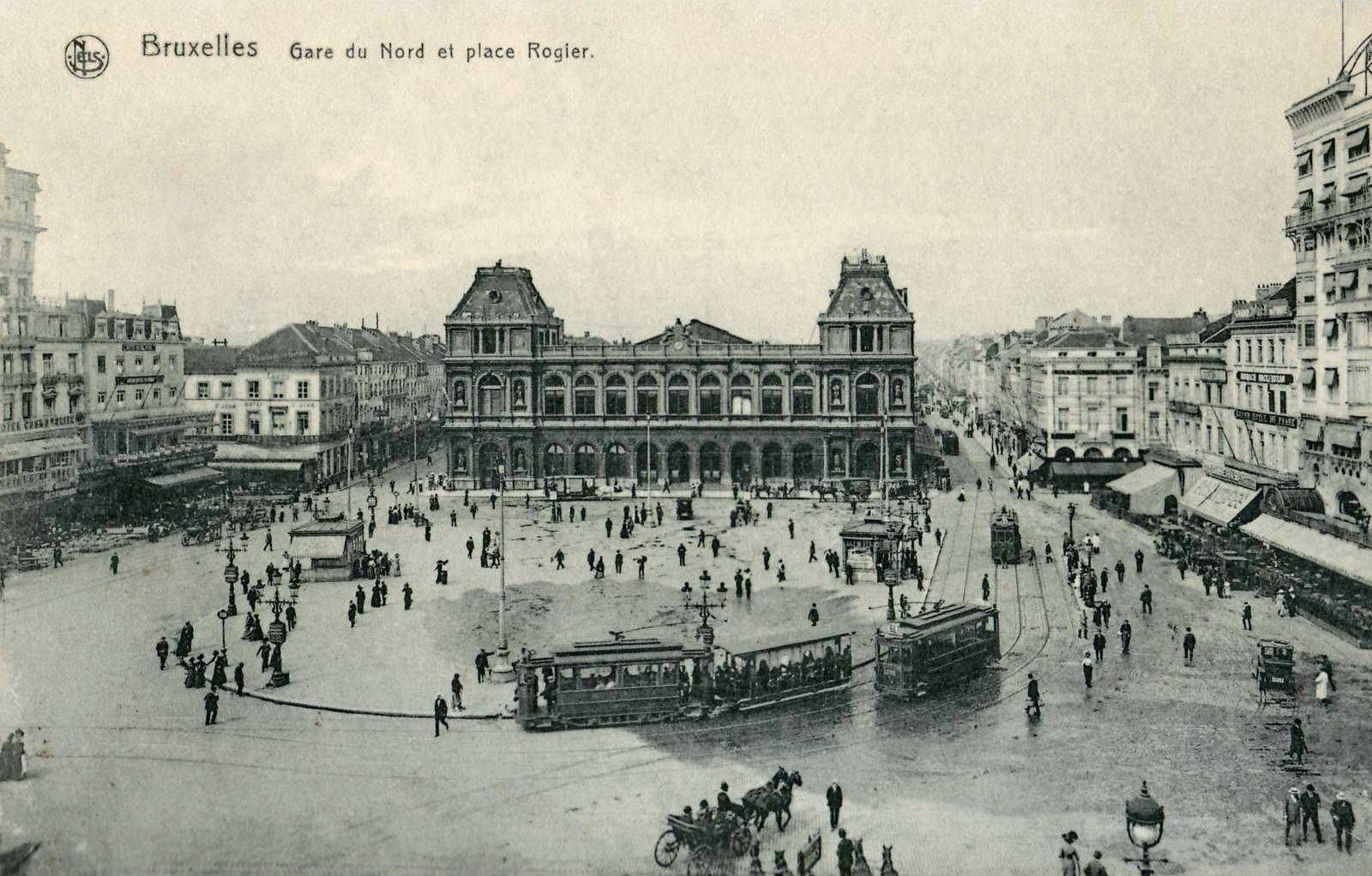 Gare du nord place rogier bruxelles brussels brussel for Le comptoir du meuble bruxelles