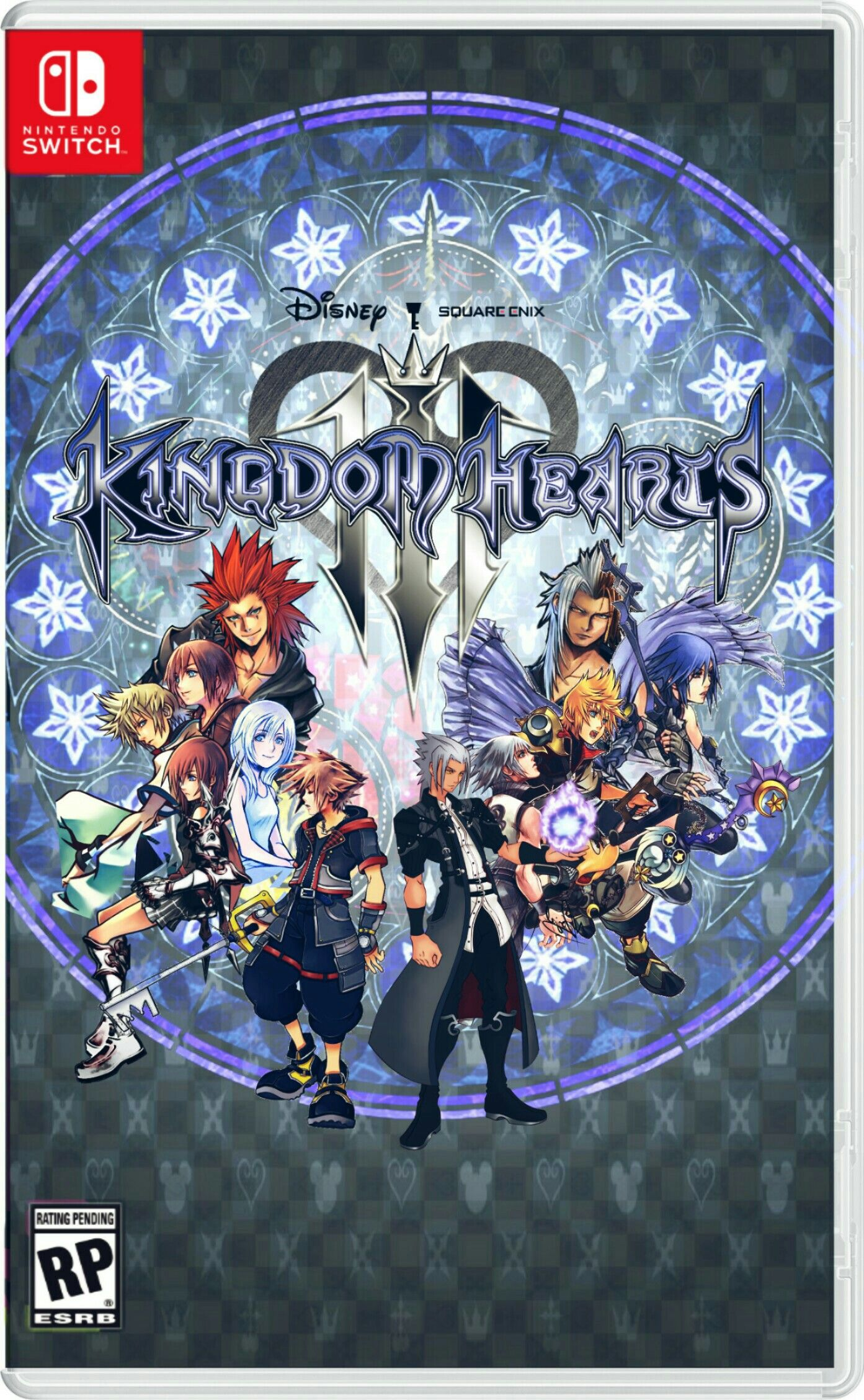 Kingdom Hearts 3 Case