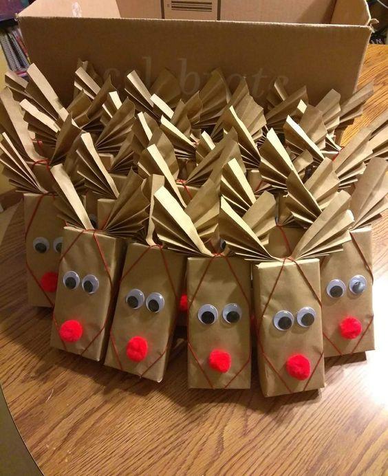 Fun & Easy Weihnachtsgeschenke für Kinder – Schokoriegel   – Christmas Crafts for Kids