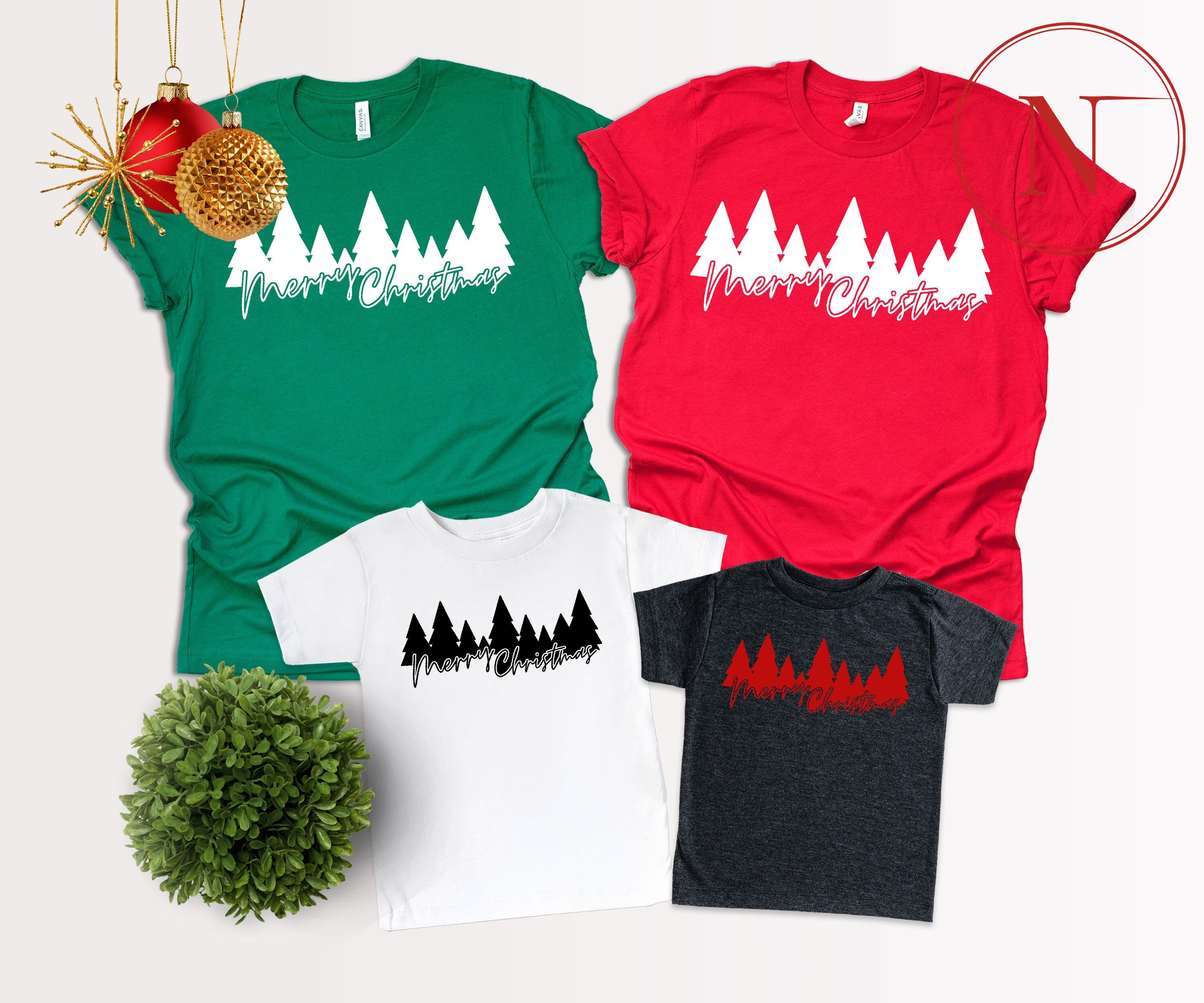 """""""Christmas Trees, Merry Christmas T-Shirt, Pretty Christmas Tee, XMas Shirt, Cute Merry Xmas Gift Hello! Welcome to our store, We are glad to see you here. We are sure you will love our designs. We have 7/24 customer support if you have any questions please contact us. HOW TO ORDER- 1-) Please, Check and Review all Photos. 2-) Select Your T-shirt Color. 3-) Select Your T-shirt Size. 4-) Choose Your Quantity as much as you want. 5-)Please click the \""""Proceed to Check Out\"""" button 6-)Finally, your"""