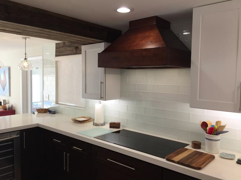 Hand Carved Wooden Range Hood 355vv A Beautiful Installation