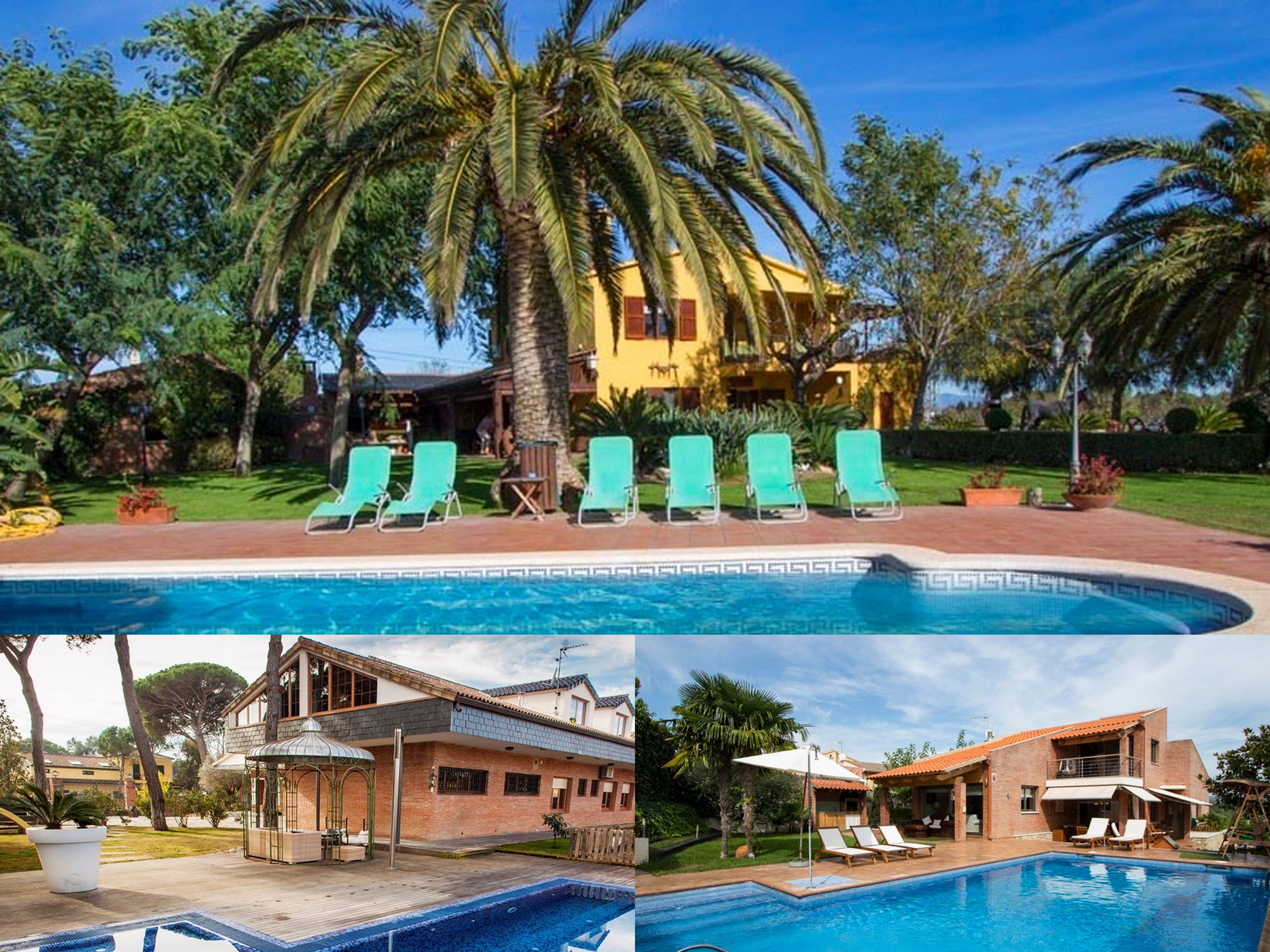 Holiday Rent villa Barcelona Catalunya Casas specialises in hand-picked,  exclusively managed family villa rentals with private pool for a luxury  vacation.