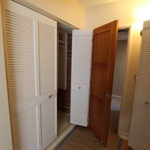 Beautiful Louvered Sliding Doors Interior