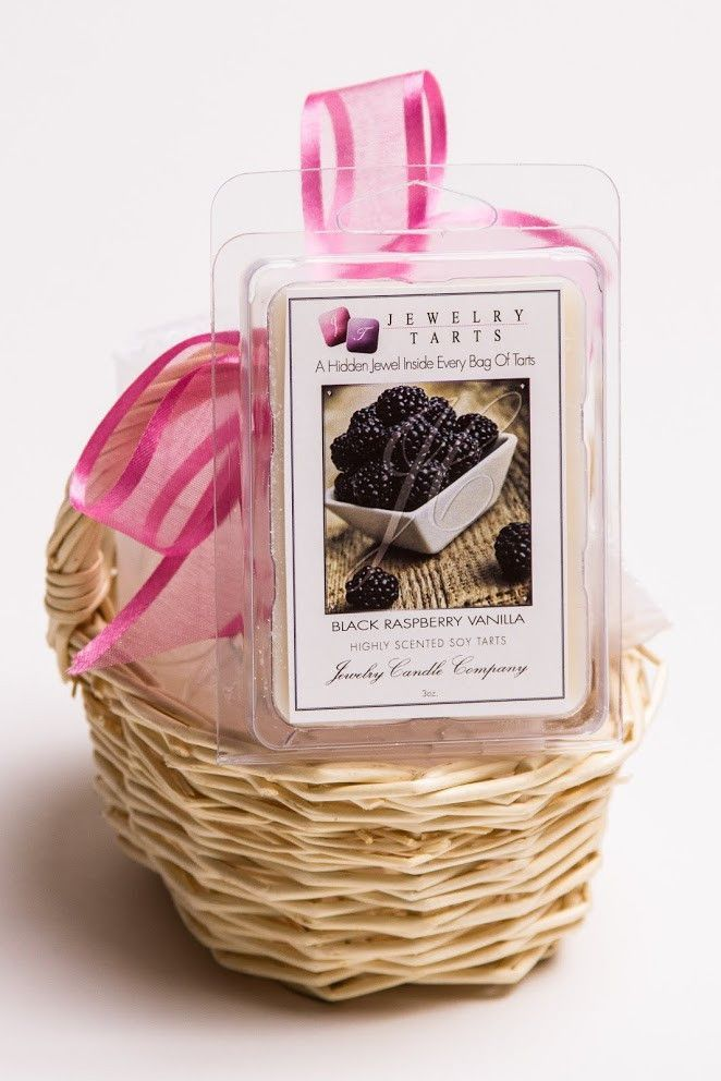 Black Raspberry Vanilla Jewelry Tarts (1 Jewelry Tart WITH A Surprise Jewel!)