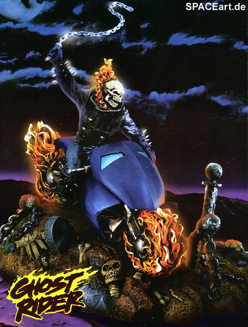 Ghost Rider Model Kit Ghost Rider Ghost Rider Marvel Ghost