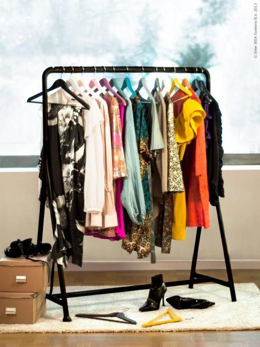 Perfect TURBO Clothes Rack, Indoor/outdoor, Black Nice Look