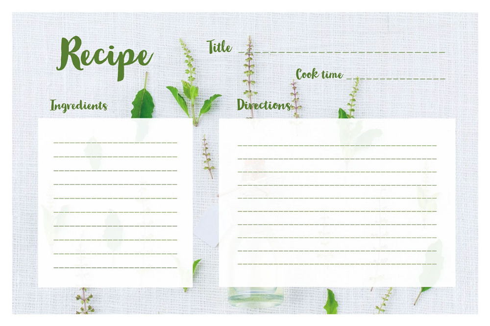 Ingredient List Template Google Search Recipe Cards Template Recipe Cards Printable Free Recipe Cards