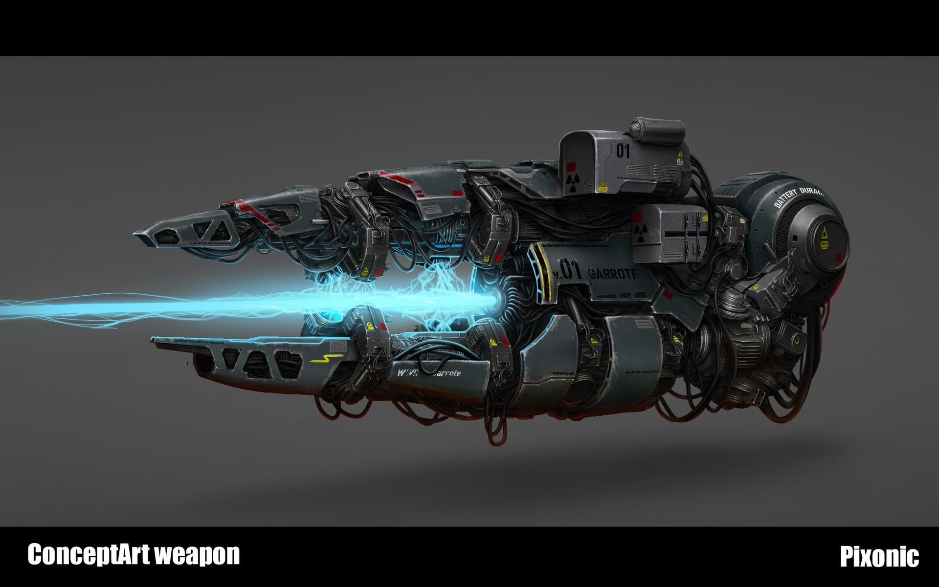 ArtStation - Energy weapon concept, Artster A