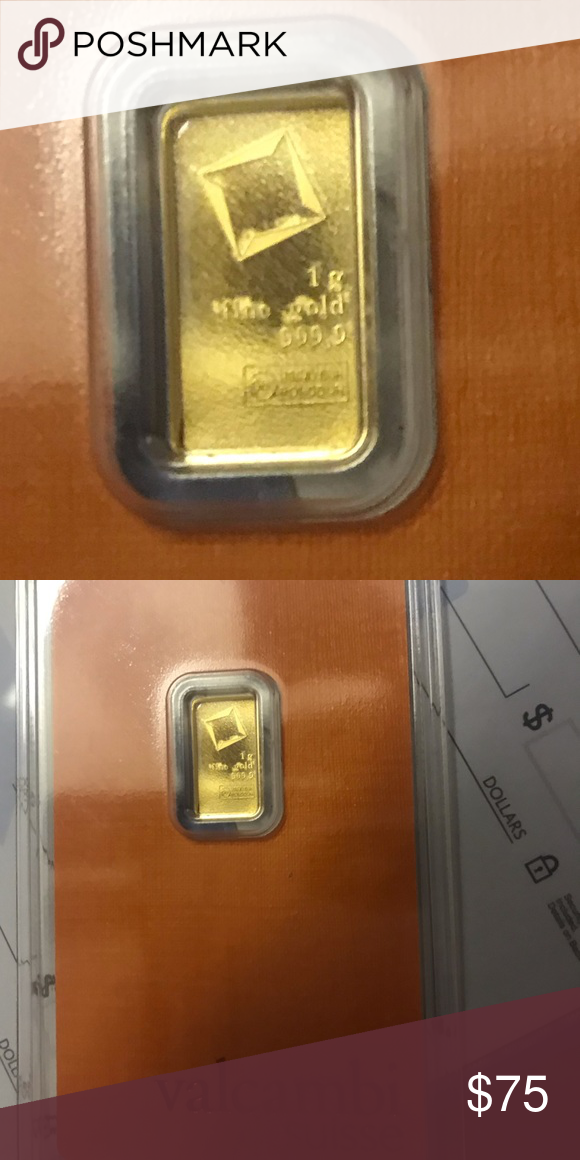 Valcambi Issued 1 Gram Of 24 Karat Gold Karat Gold Things To Sell