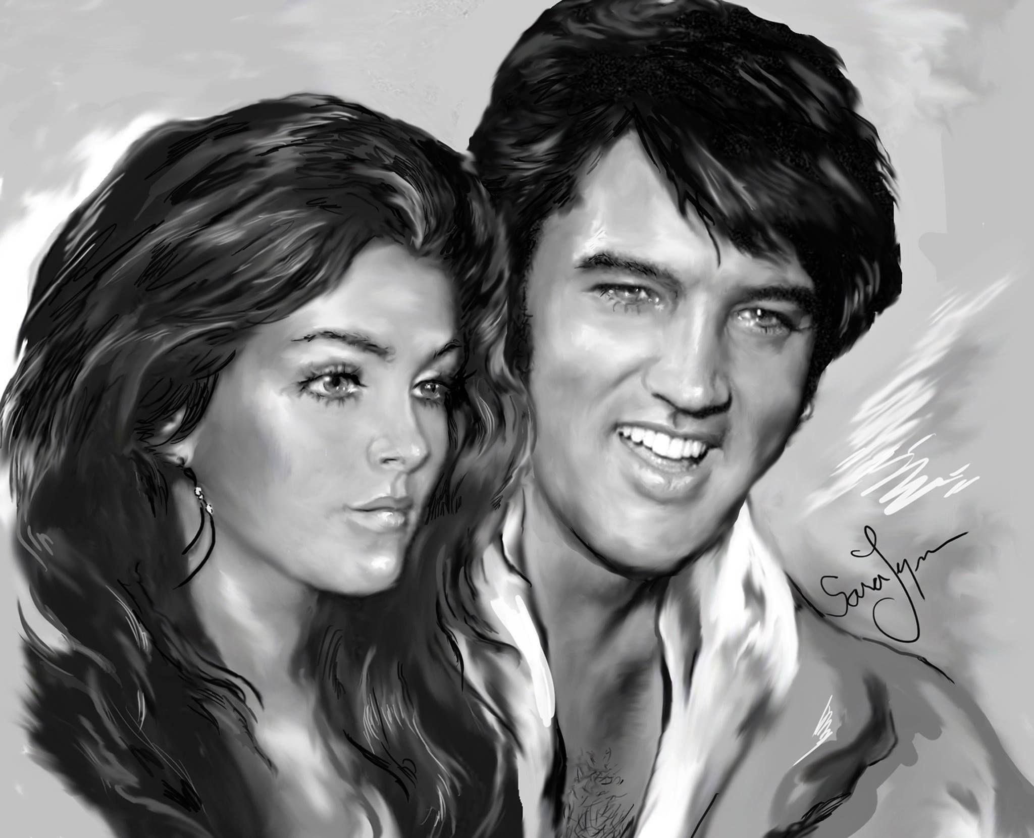 Drawing Elvis Presley   Elvis