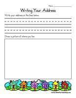 91+ Writing Addresses Worksheets